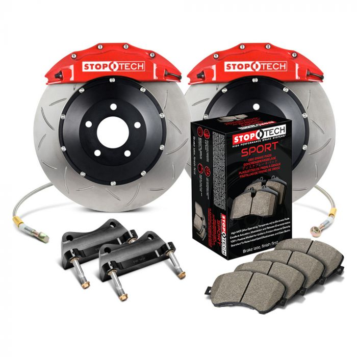 Replacement Parts Automotive Drilled & Slotted Rear StopTech ...